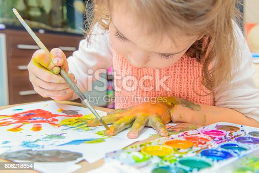 istock drawing by paints 606218654