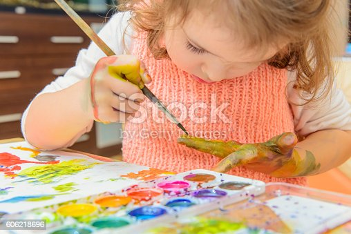 istock drawing by paints 606218696