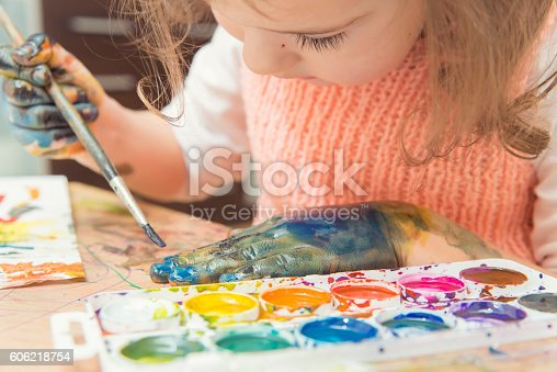 istock drawing by paints 606218754