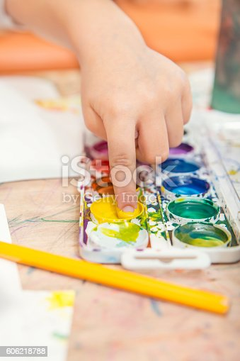 istock drawing by paints 606218788