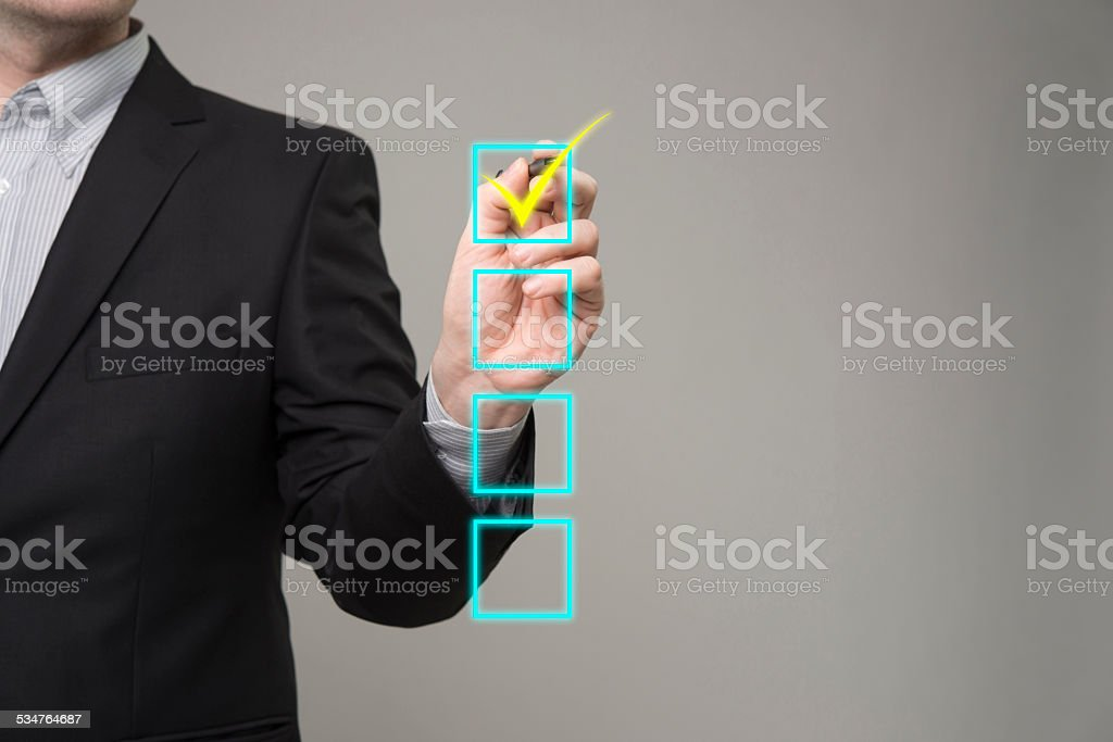 Drawing chart structure stock photo