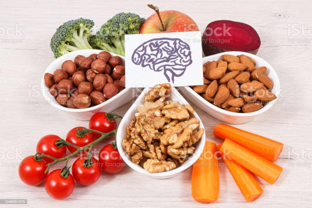 Alimentos para la memoria que comer