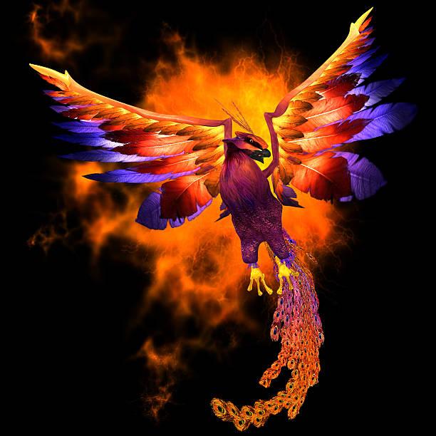 Pájaro de Phoenix - foto de stock