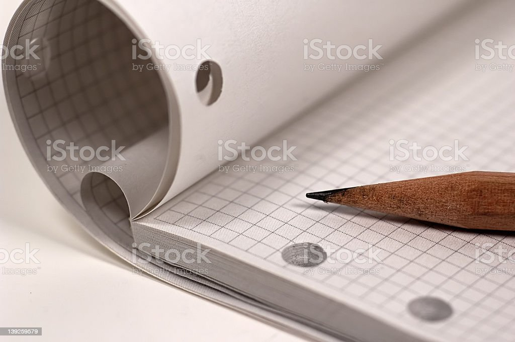 Drawing Pad royalty-free stock photo