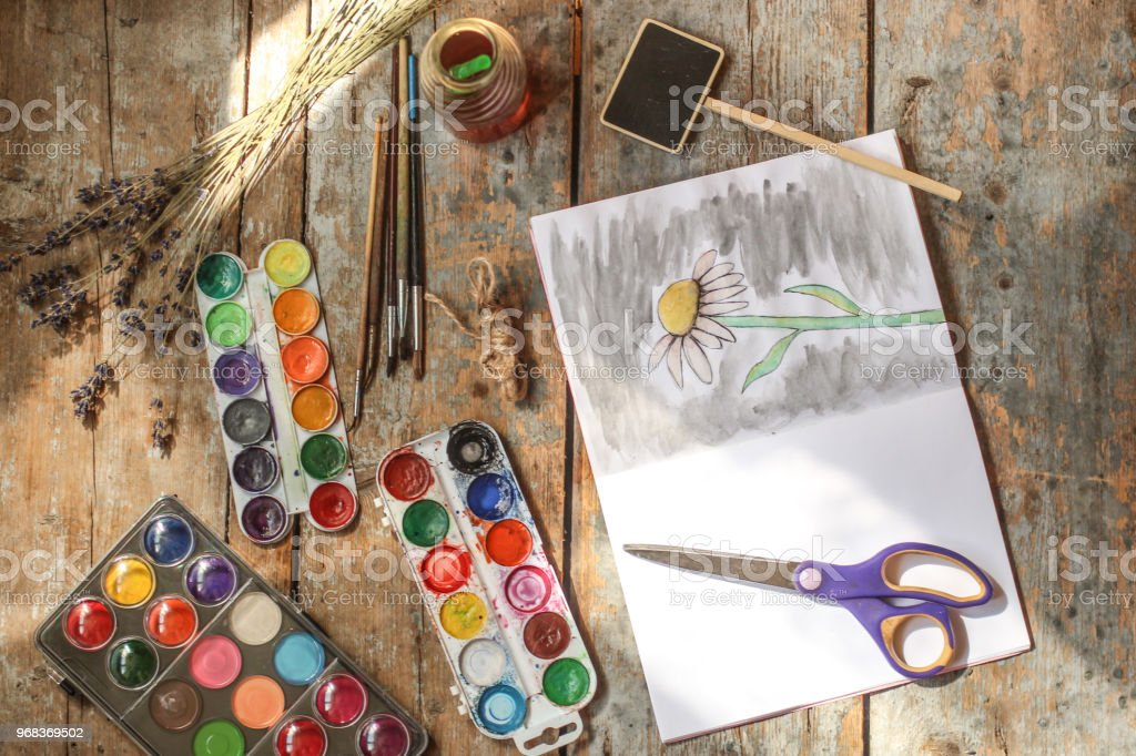 paints camomile