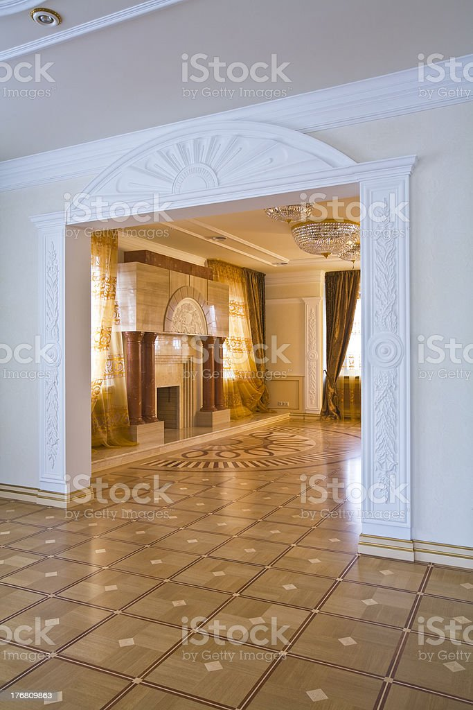 Drawing room royalty-free stock photo