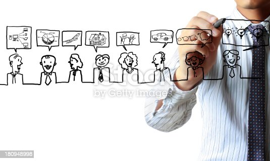 522382893istockphoto drawing social network structure 180948998