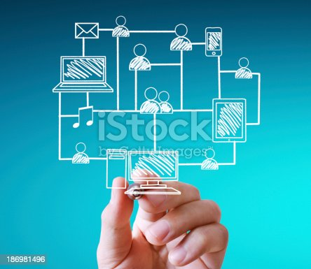 522382893istockphoto drawing social network structure 186981496