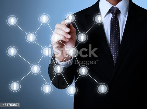 522382893istockphoto drawing social network structure 471790871
