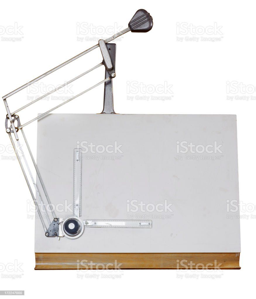 Drawing Table stock photo