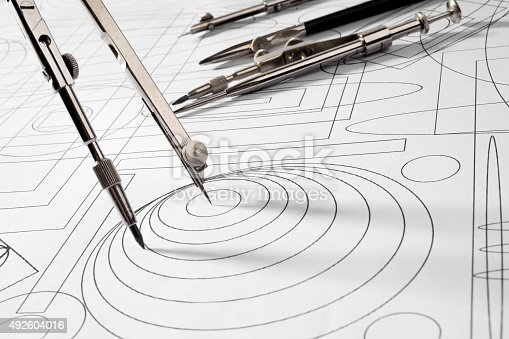 istock drawing tools and sketch 492604016