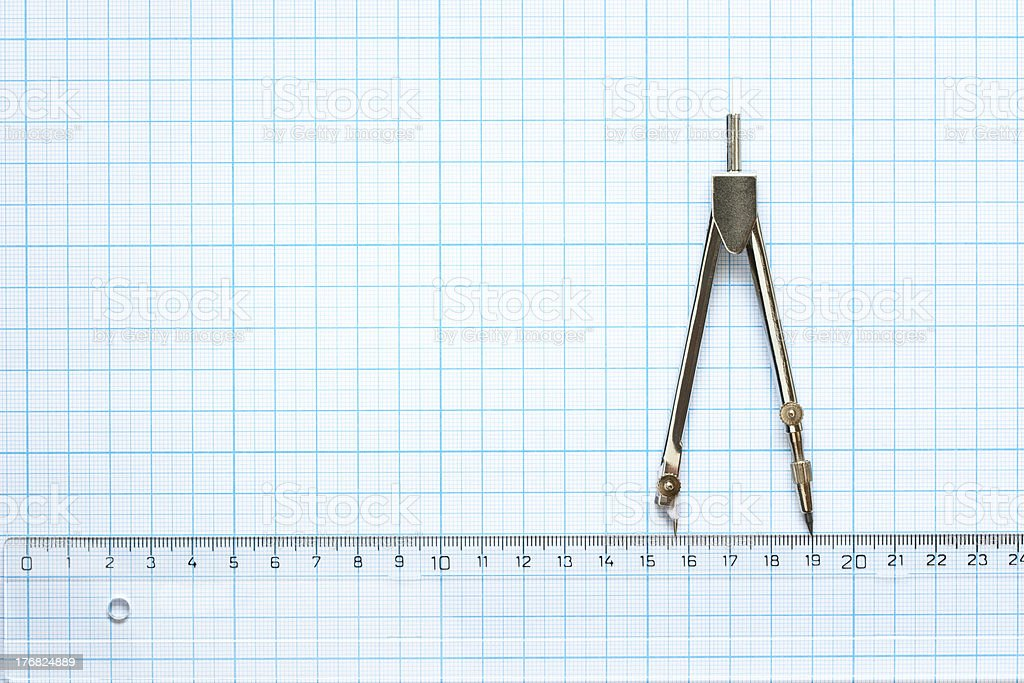 drawing tools royalty-free stock photo