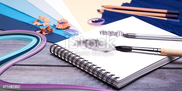 istock drawing tools 471482352