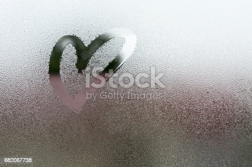 istock Drawn the heart shape 682067738