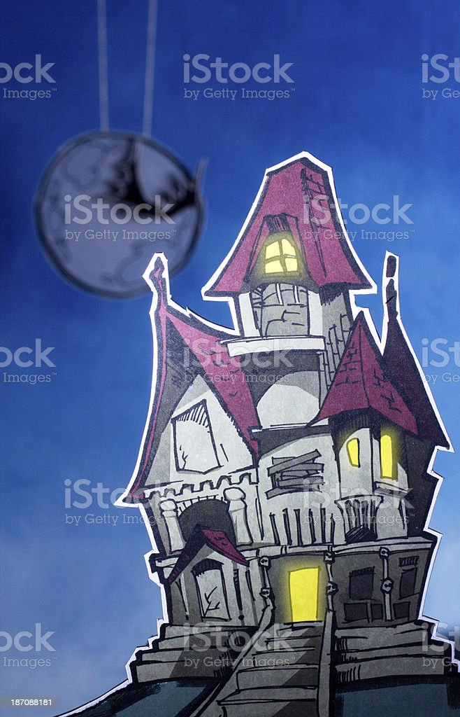 Drawn World: Halloween royalty-free stock photo