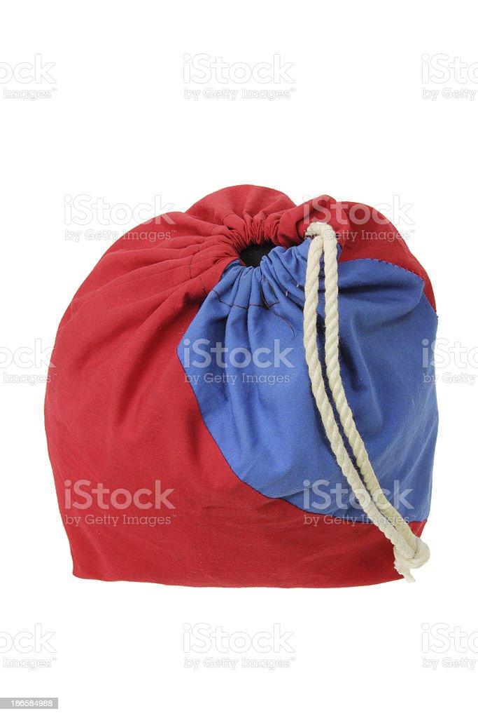 Drawstring Sack stock photo