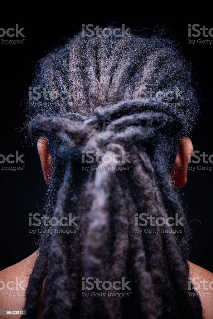 Dreadlocks stock photo