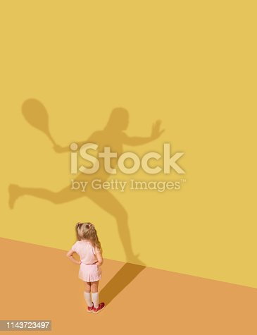 istock Dream about tennis 1143723497