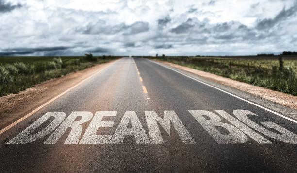 dream big - angst vor der geburt stock-fotos und bilder