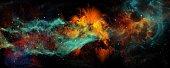 dream deep space travel background
