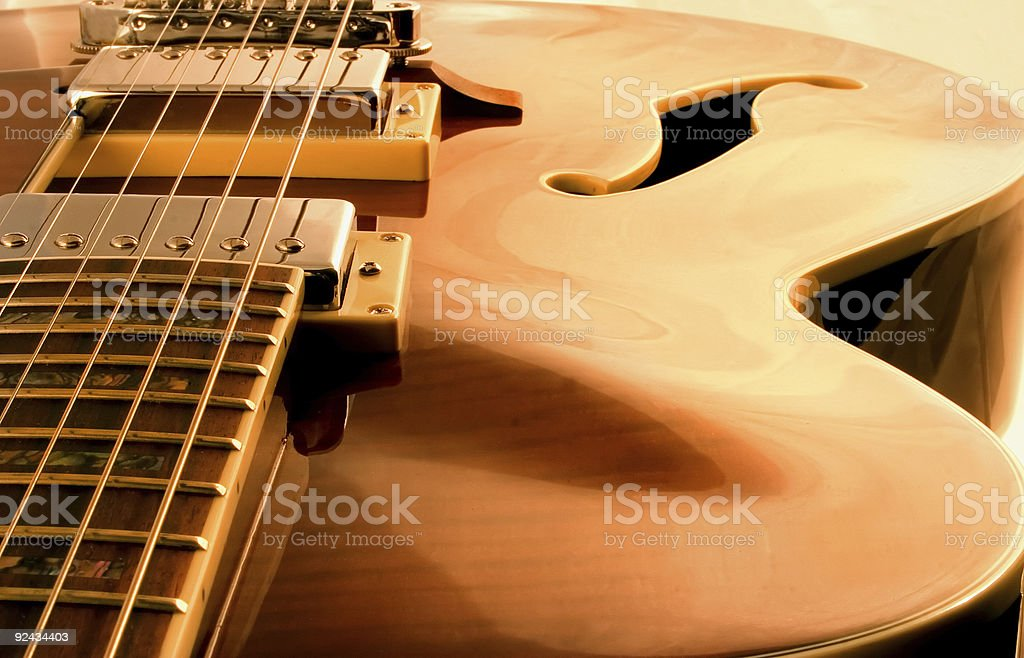 Dream Guitar royalty-free stock photo