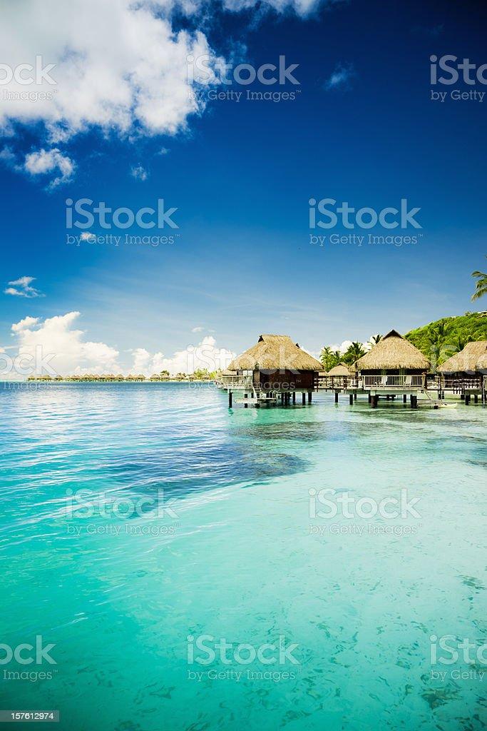 Dream Holiday Luxury Hotel Resort stock photo