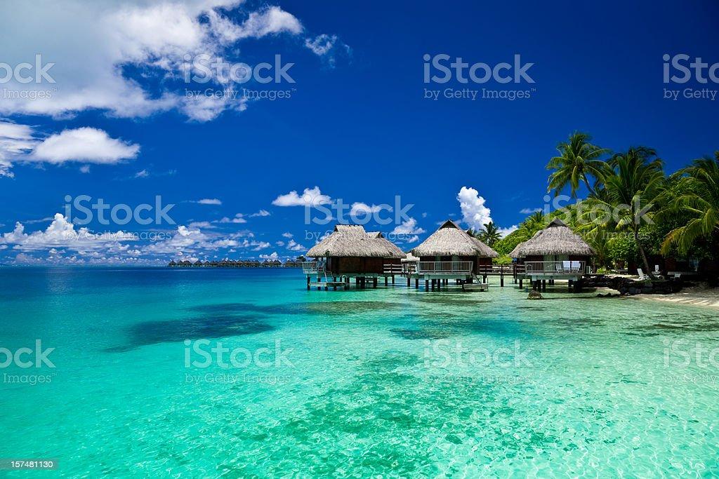 Complejo turístico de lujo de vacaciones de ensueño - foto de stock