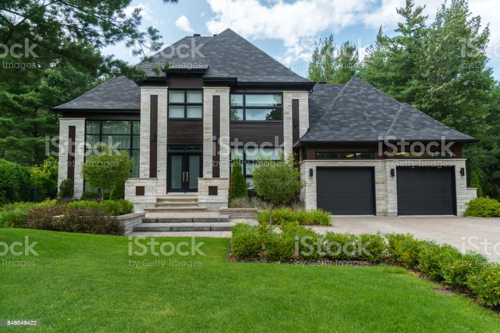Dream Home, Luxury House, Success stock photo