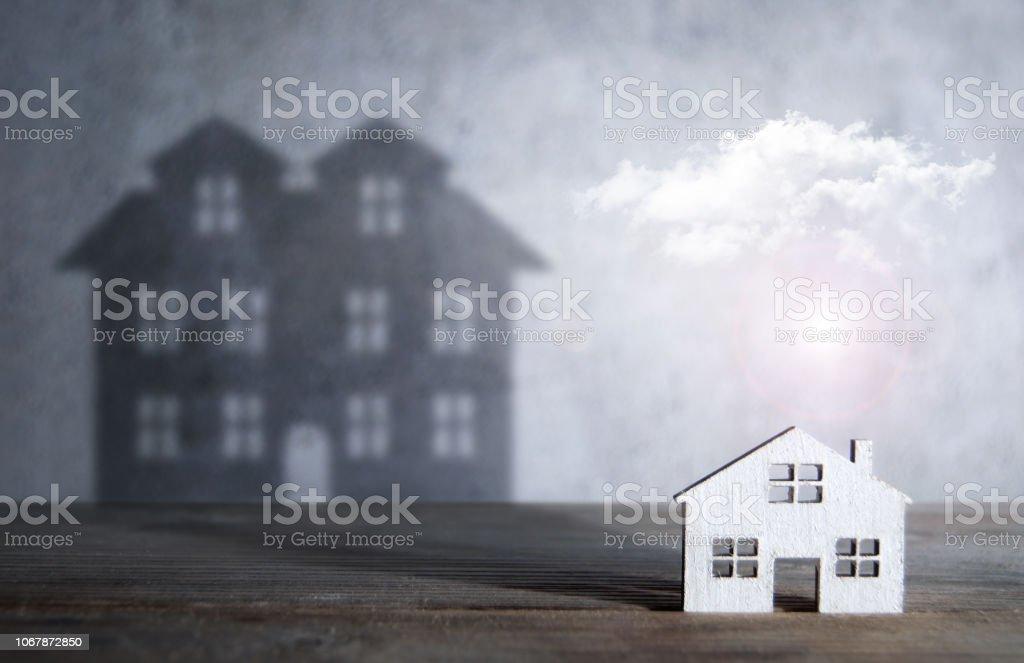 Traum-Haus-Konzept – Foto
