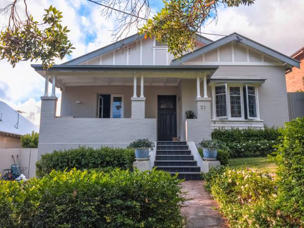 Dream house in Sydney stock photo
