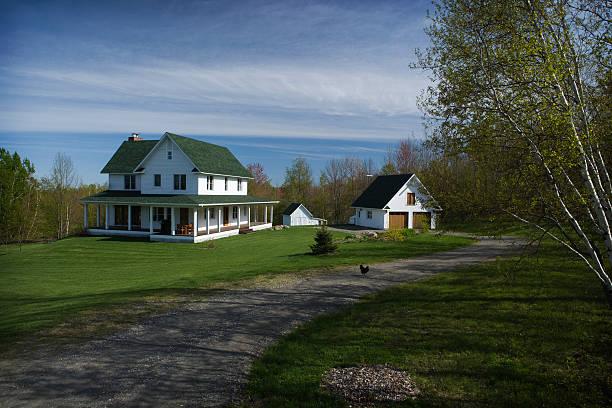 Dream house stock photo
