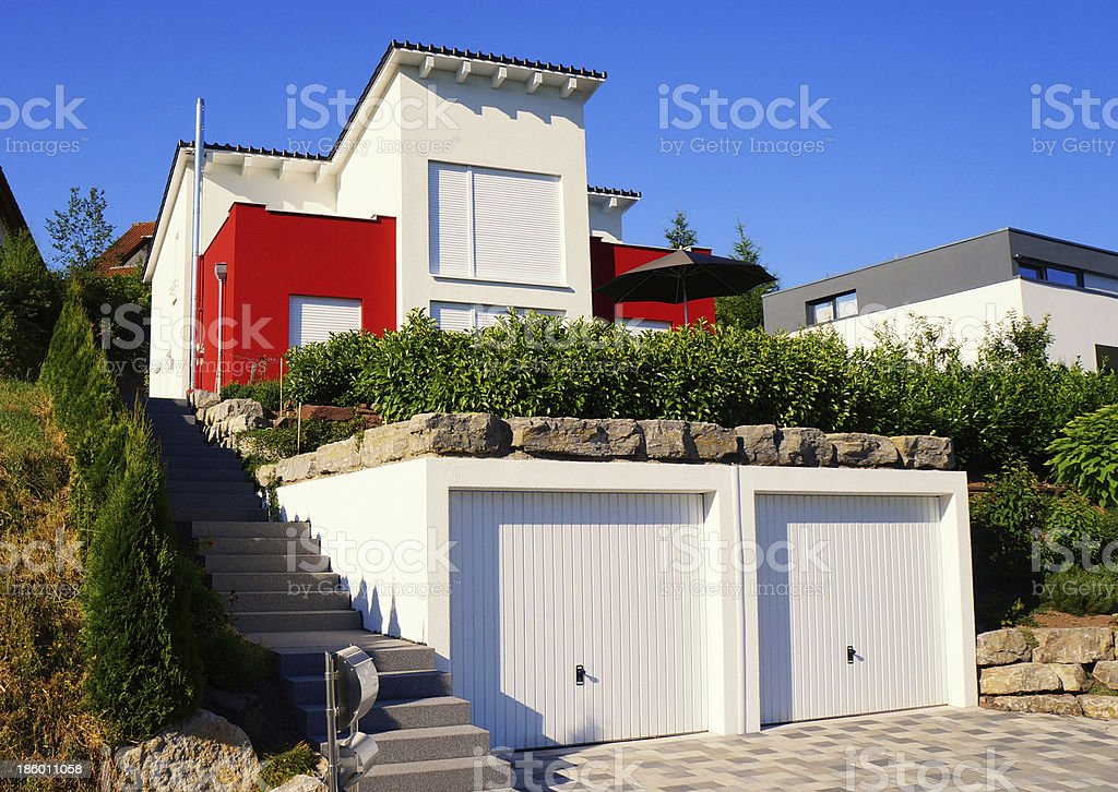 Dream house royalty-free stock photo