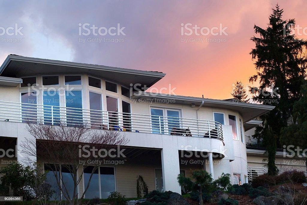 Dream house royalty-free stock photo