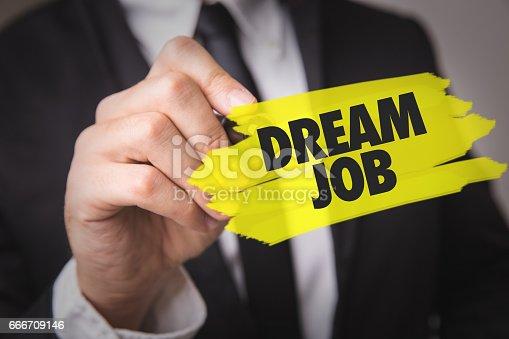 465474428istockphoto Dream Job 666709146