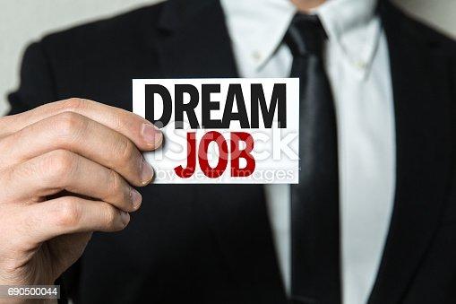 465474428istockphoto Dream Job 690500044