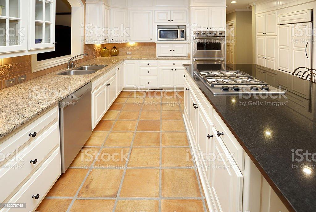 Sogno cucina con ripiani in marmo e granito pavimenti in