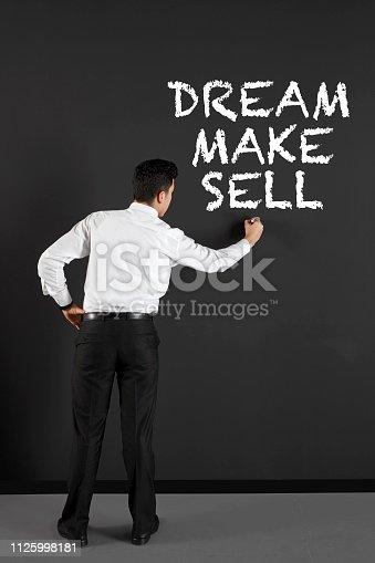 istock Dream, make, sell 1125998181