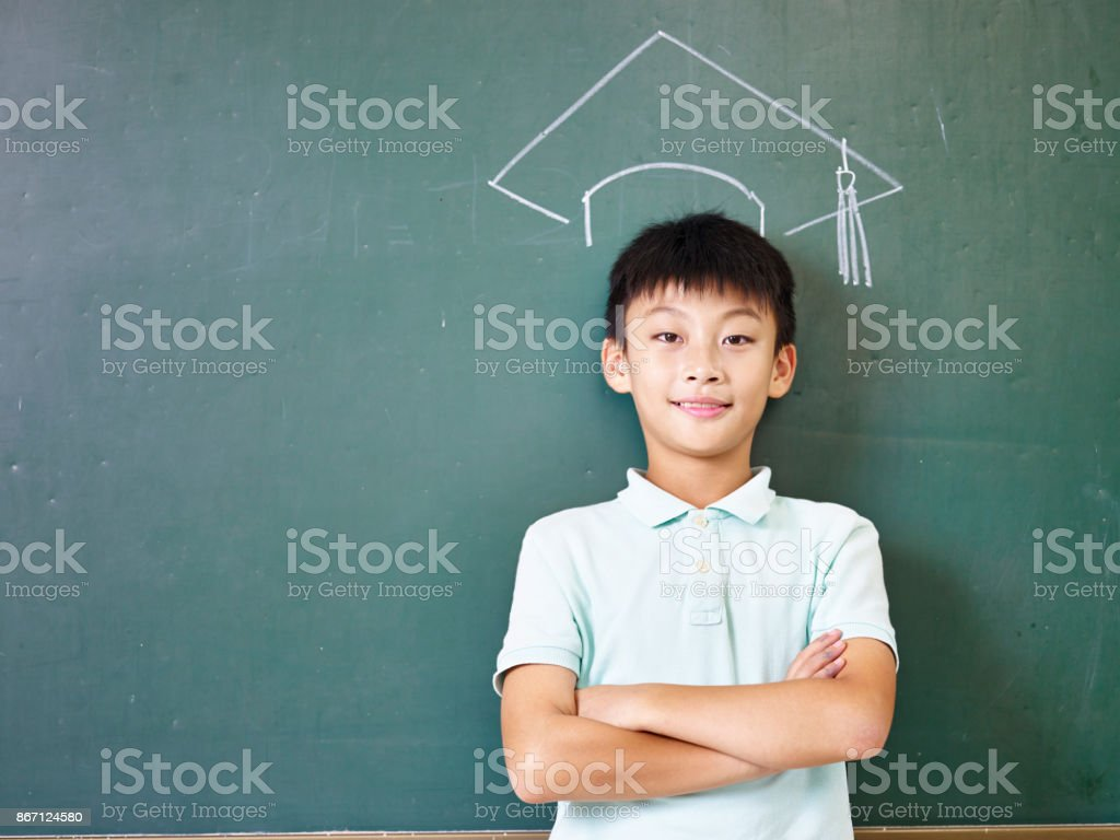 dream of college education stock photo