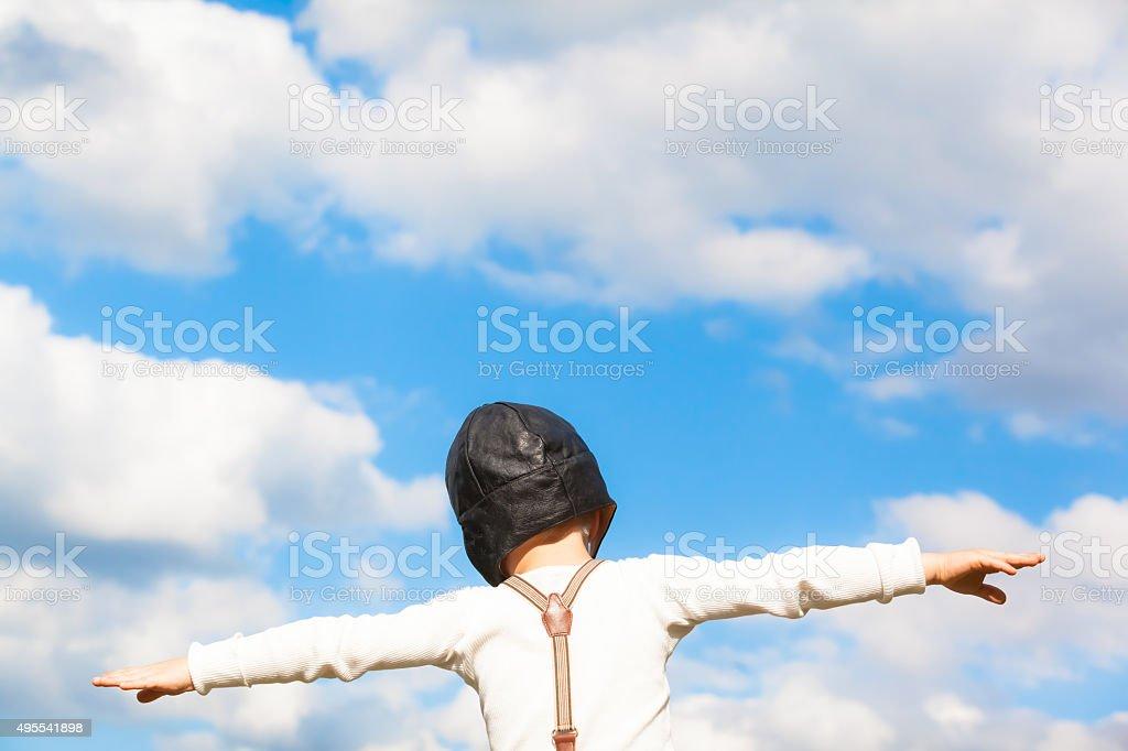 Sueño de volar - foto de stock