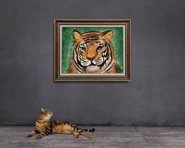 Rêve de chat tigré: Être tigre - Photo