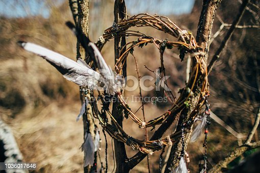 Furniture, Decor, Old, Craft,  Home, Saint-Petersburg, Wind, Single Object, Dreamcatcher, North American Tribal Culture, Dreamlike