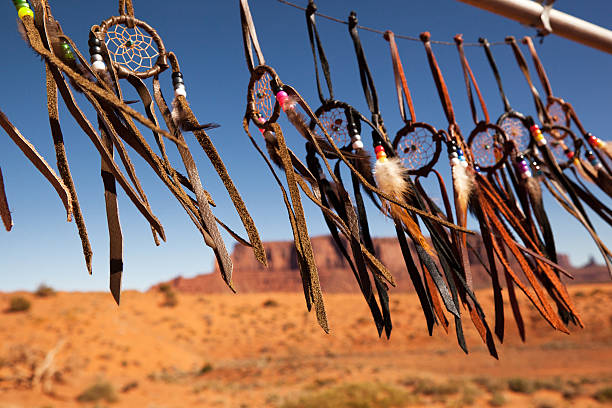 dreamcatchers - native american reservation stock photos and pictures