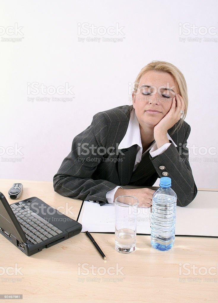 Träumen Sie Arbeit Lizenzfreies stock-foto