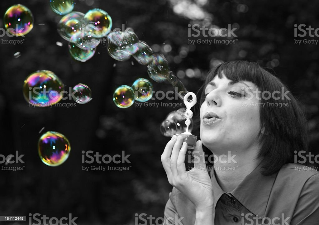 Dreaming colors royalty-free stock photo