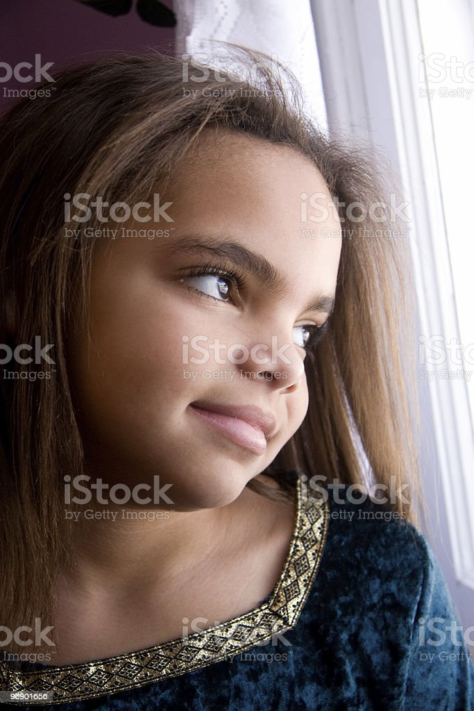 Dreaming Girl royalty-free stock photo