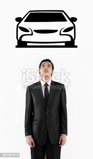 istock dreaming of a sports car 802587670