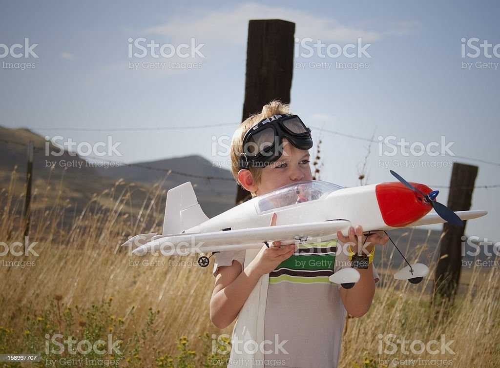 Dreaming of Flying stock photo