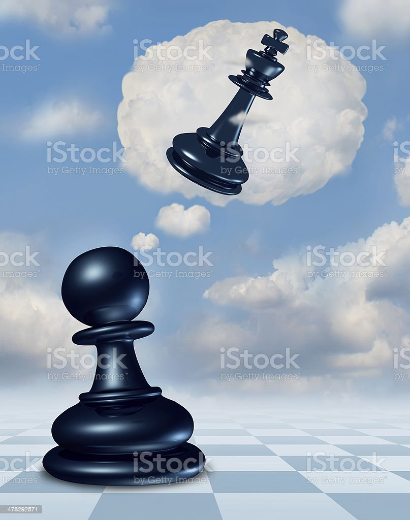 Dreaming Of Success royalty-free stock photo