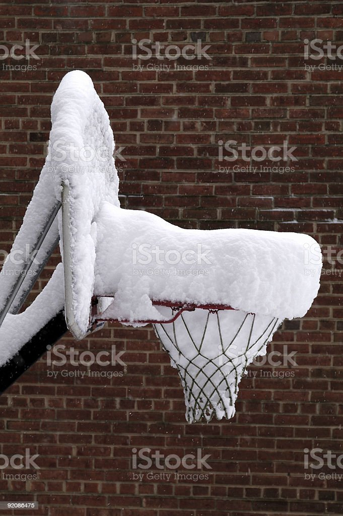 Dreaming of Summer Basketball stock photo