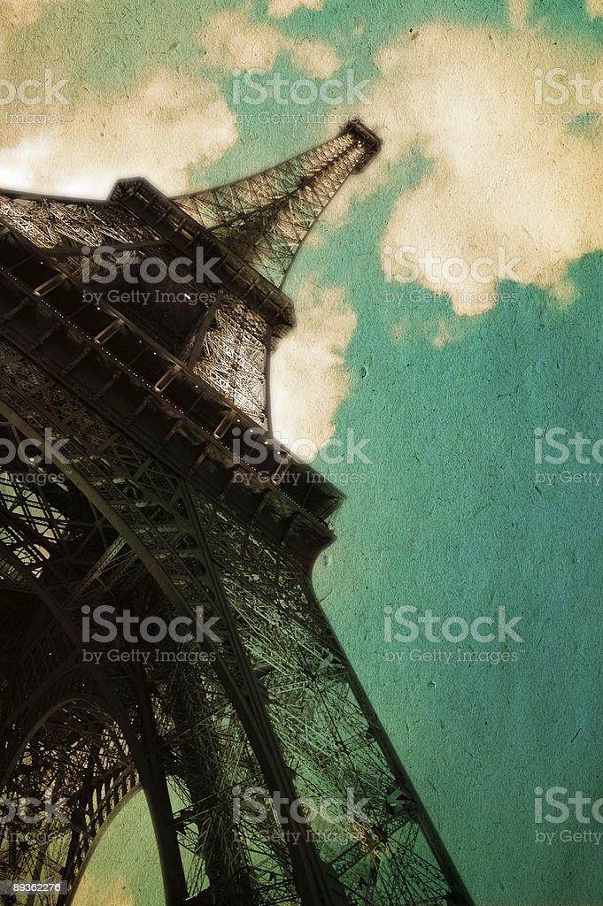 Dreaming Paris Series royalty-free stock photo